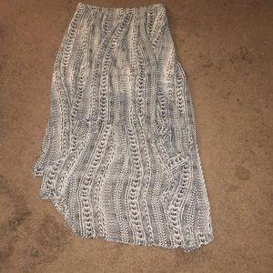 Forever 21 High Low Tribal Skirt